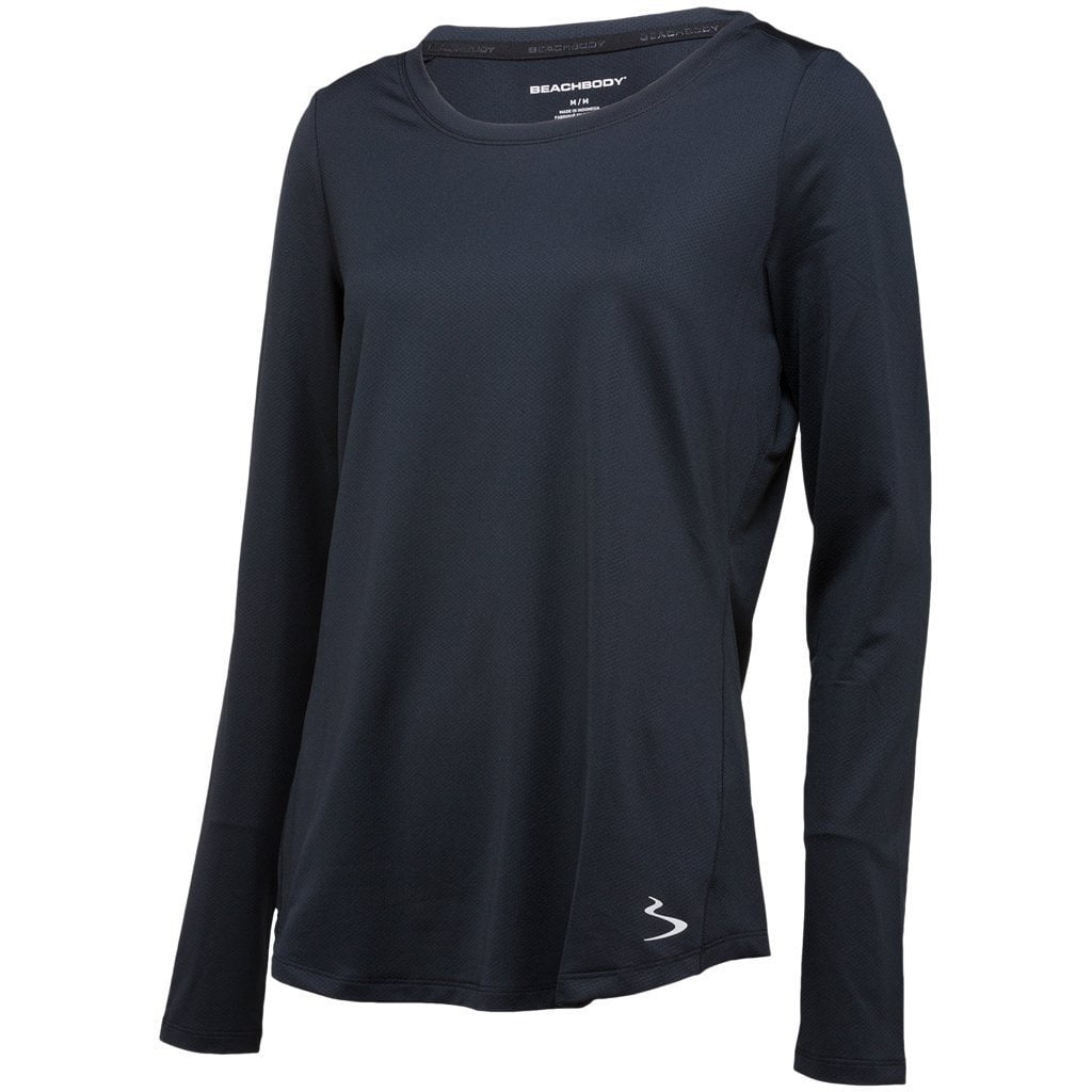 T-Shirts & Vests - Beach Body Element Long Sleeve Black