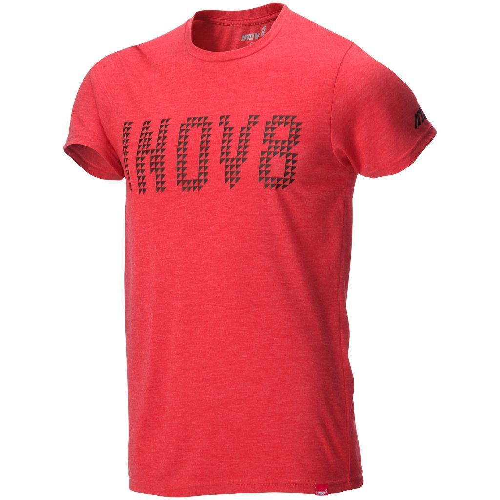 T-Shirts & Vests - Inov8 Mens Tri Blend T-Shirt Red