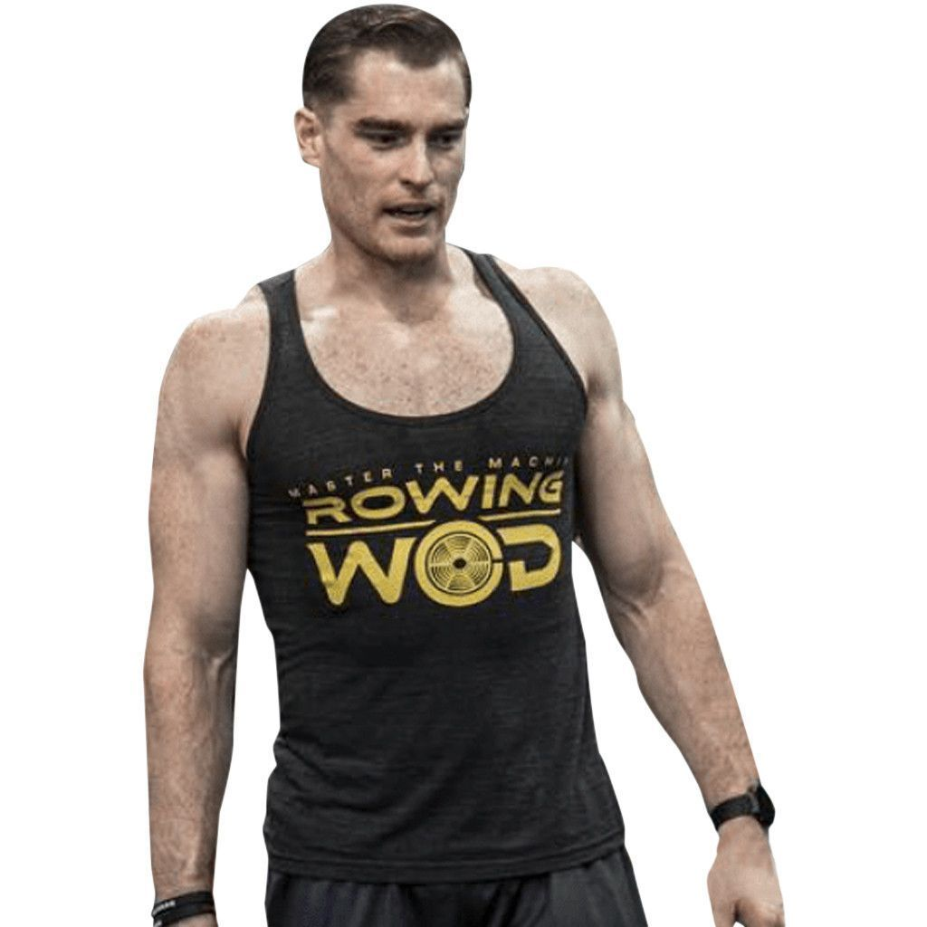 T-Shirts & Vests - Rowing WOD Men's Original Vest Black