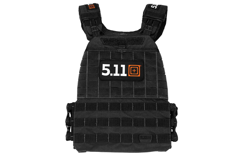 5.11 Tactec Plate Carrier Weighted Vest - CrossFit Games Edition Black