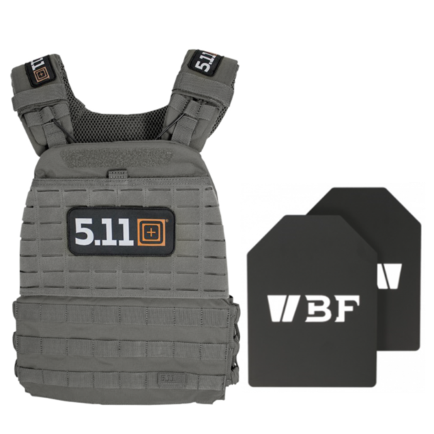 5.11 Tactec Plate Carrier CrossFit Games Limited Edition Weighted Vest +Beaverfit Plates