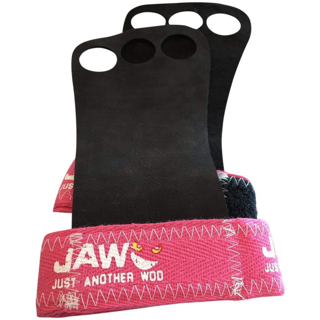 Tape, Wraps & Support - JAW Leather Pullup Grips Pink