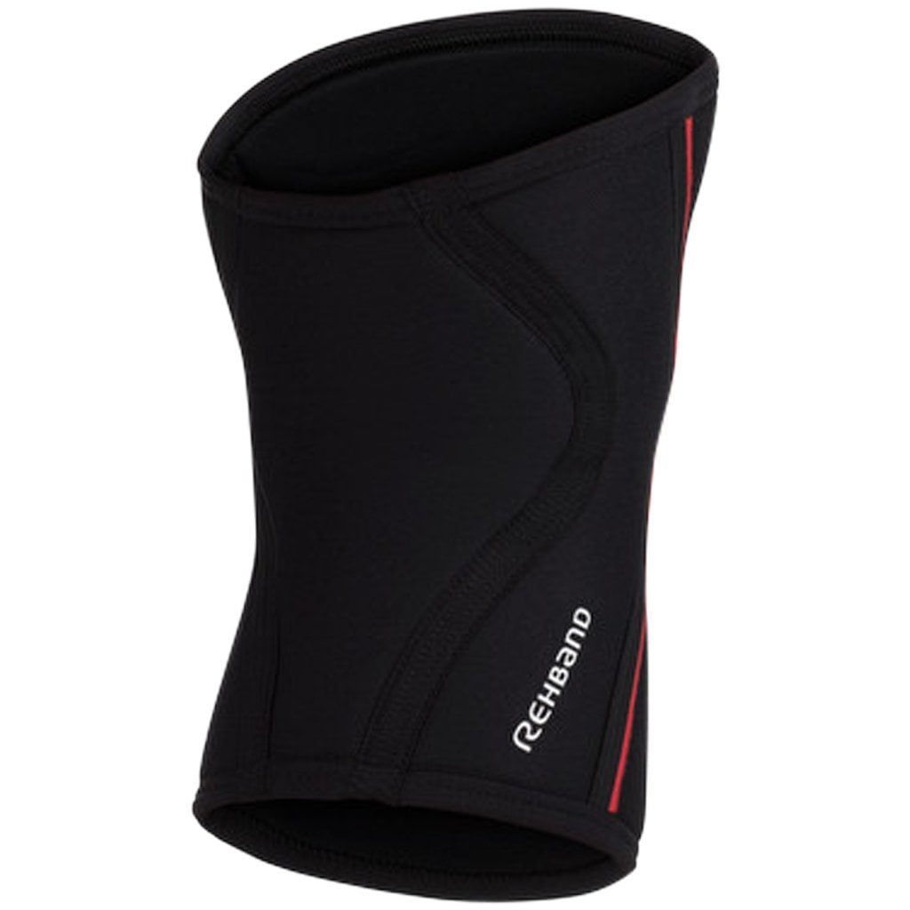 Tape, Wraps & Support - Rehband Black / Red 7mm Knee Sleeve