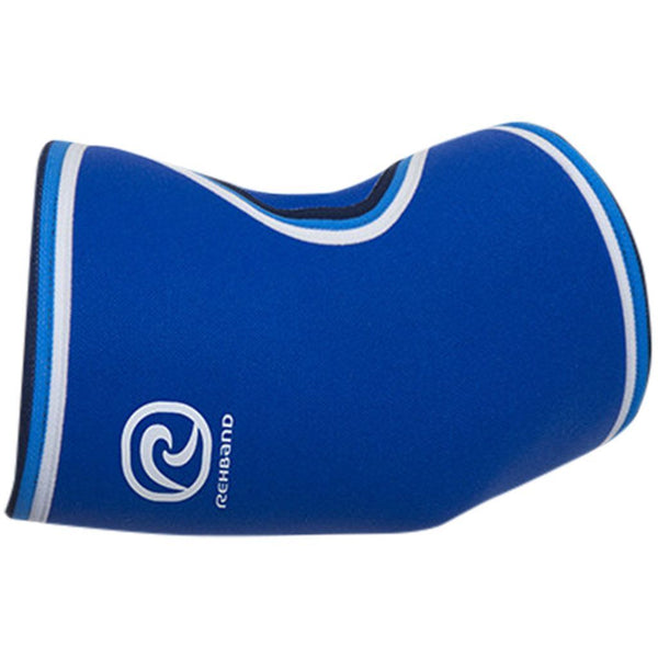 Tape, Wraps & Support - Rehband Blue Line Elbow Sleeve 5mm Blue