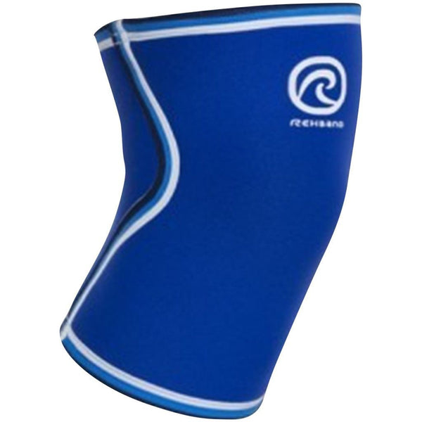Tape, Wraps & Support - Rehband Blue Line Knee Sleeve 7mm Blue