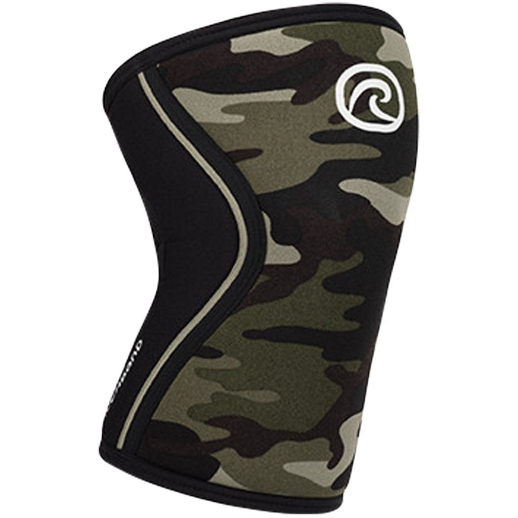 Tape, Wraps & Support - Rehband Camo 7mm Knee Sleeve
