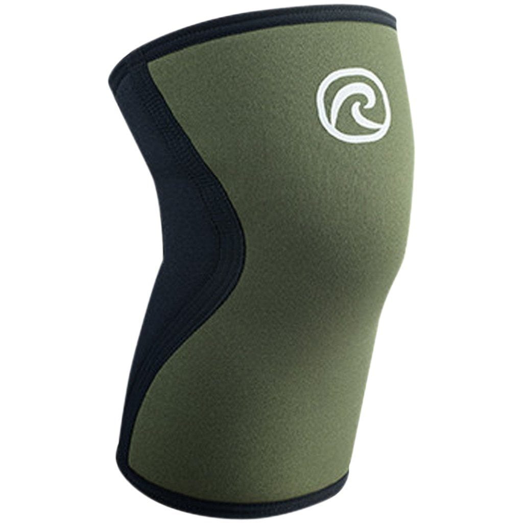 Tape, Wraps & Support - Rehband Core Line RX Knee Sleeve 5mm Olive