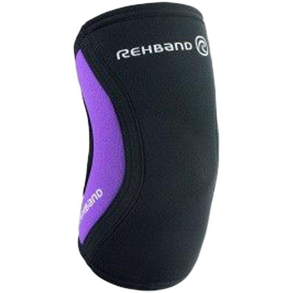 Tape, Wraps & Support - Rehband RX Elbow Sleeve 5mm Black / Purple