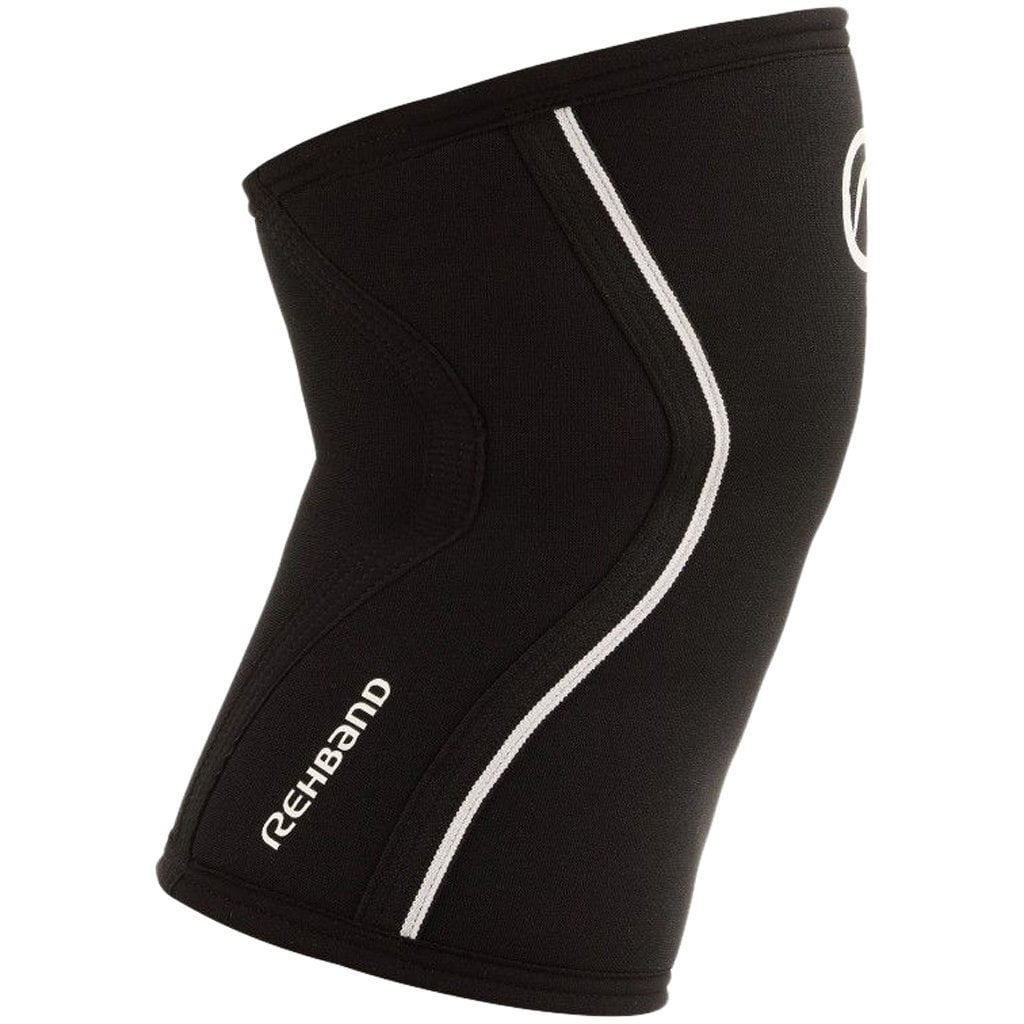 Tape, Wraps & Support - Rehband RX Knee Sleeve 3mm Black