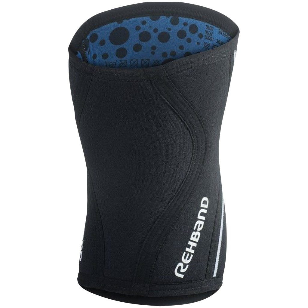 Tape, Wraps & Support - Rehband RX Knee Sleeve 5mm Black