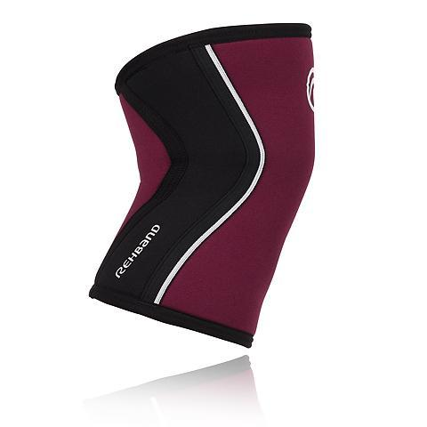 Tape, Wraps & Support - Rehband RX Knee Sleeve 5mm Burgundy