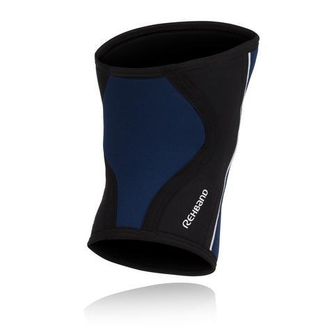 Tape, Wraps & Support - Rehband RX Knee Sleeve 5mm Navy