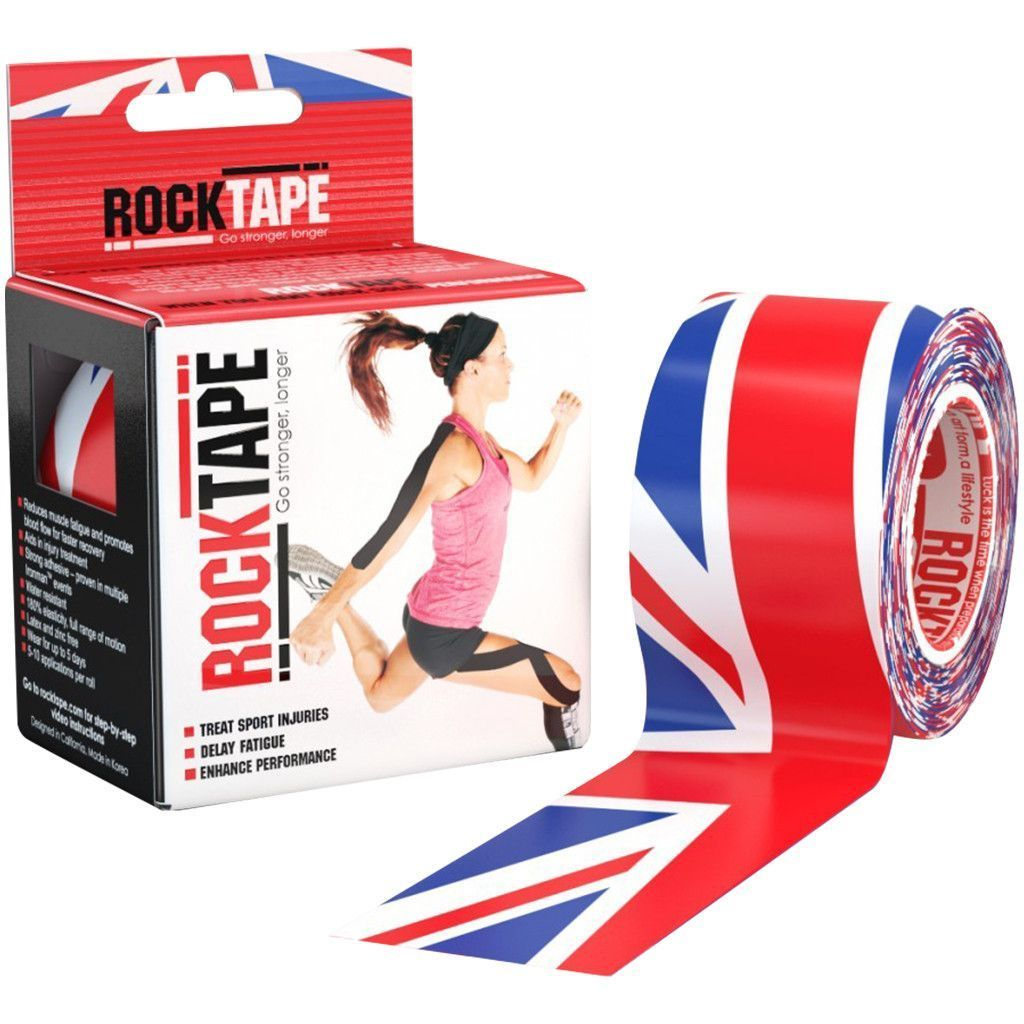 Tape, Wraps & Support - Rocktape Union Jack 5cm X 5m