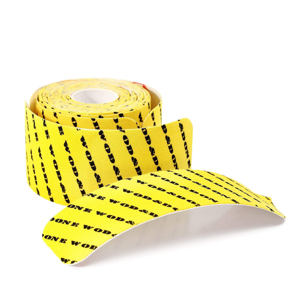 Wod & Done Thumb Protection Strips in a Roll Yellow