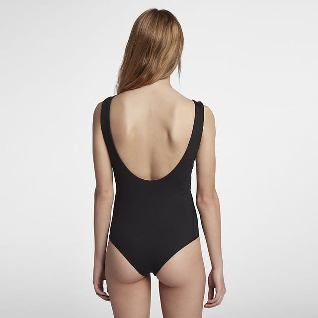 Hurley Quick Dry Block Party Bodysuit Black