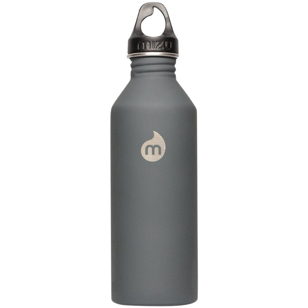 Water Bottle - MIZU M8 - Enduro Grey LE W Grey Loop Cap