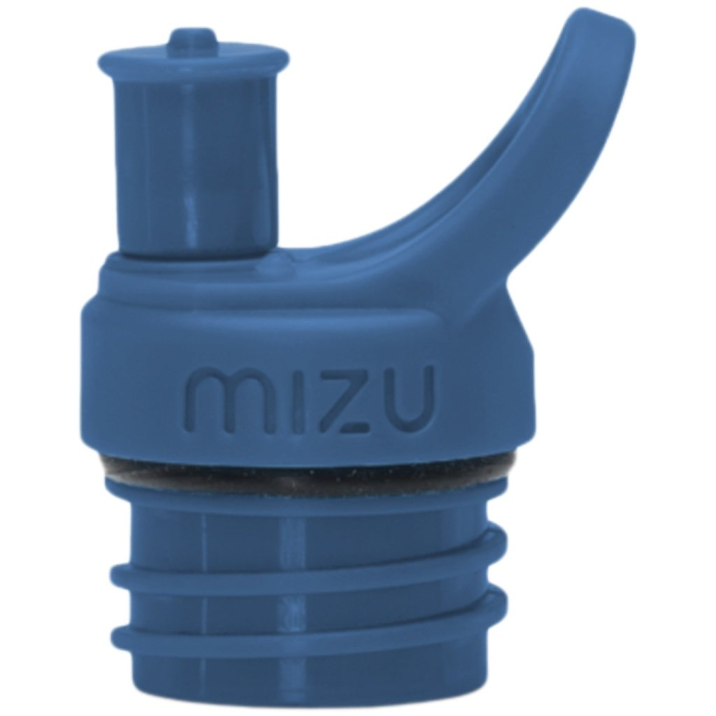 Water Bottle - Mizu Sports Cap Blue