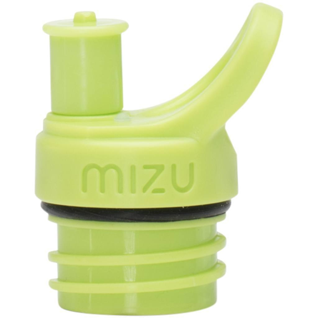 Water Bottle - Mizu Sports Cap Green