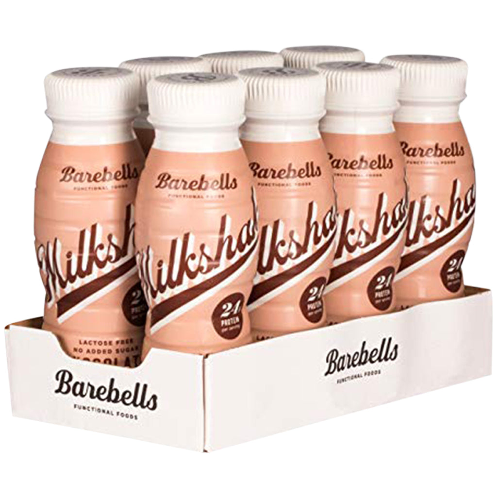 Barebells Chocolate Milkshake 8 x 330ml