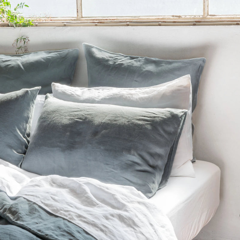 Pure Linen bed European Pillowcases