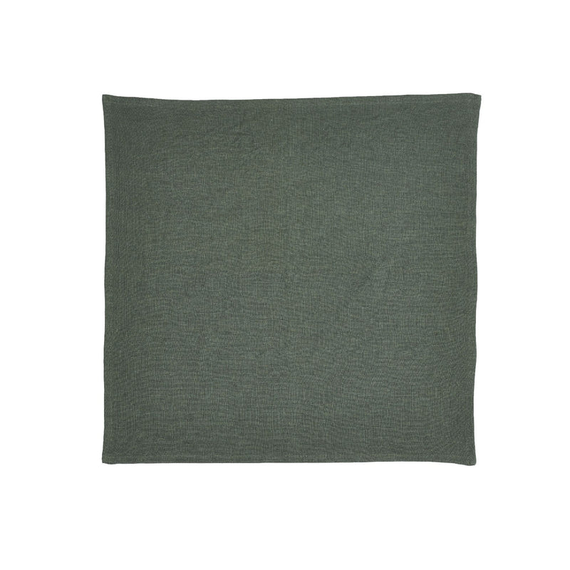 Pure Linen Tea Towels Kaffir Forest Green Belgian Linen Tea Towels Australia