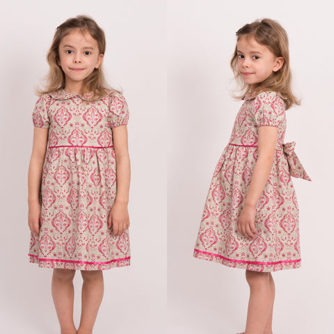 Cordelia Dress with puff sleeves