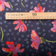 "Tissu Liberty 'From London with love"" sun daisy - bleu - Aux Tissus de Roubaix"