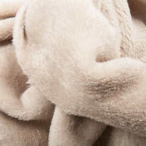 Cuddle Fleece tissu doudou - taupe