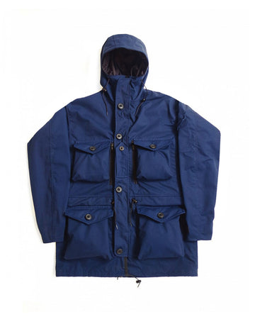 B310 Waterproof Combat Smock - Navy Blue