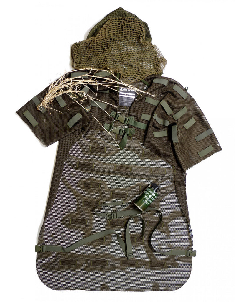 S690 Ghillie Suit - Olive Green