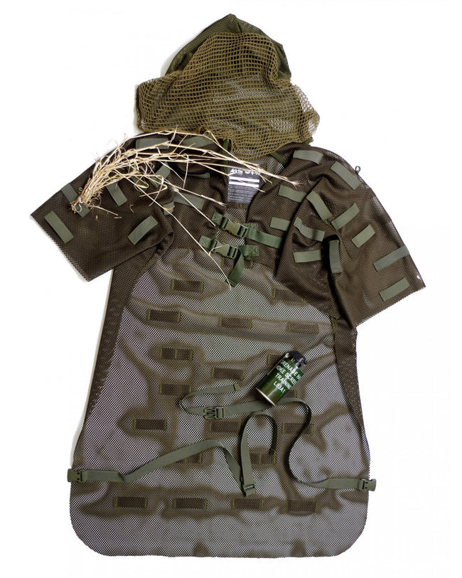 S690 Ghillie Suit - Olive Green - Arktis