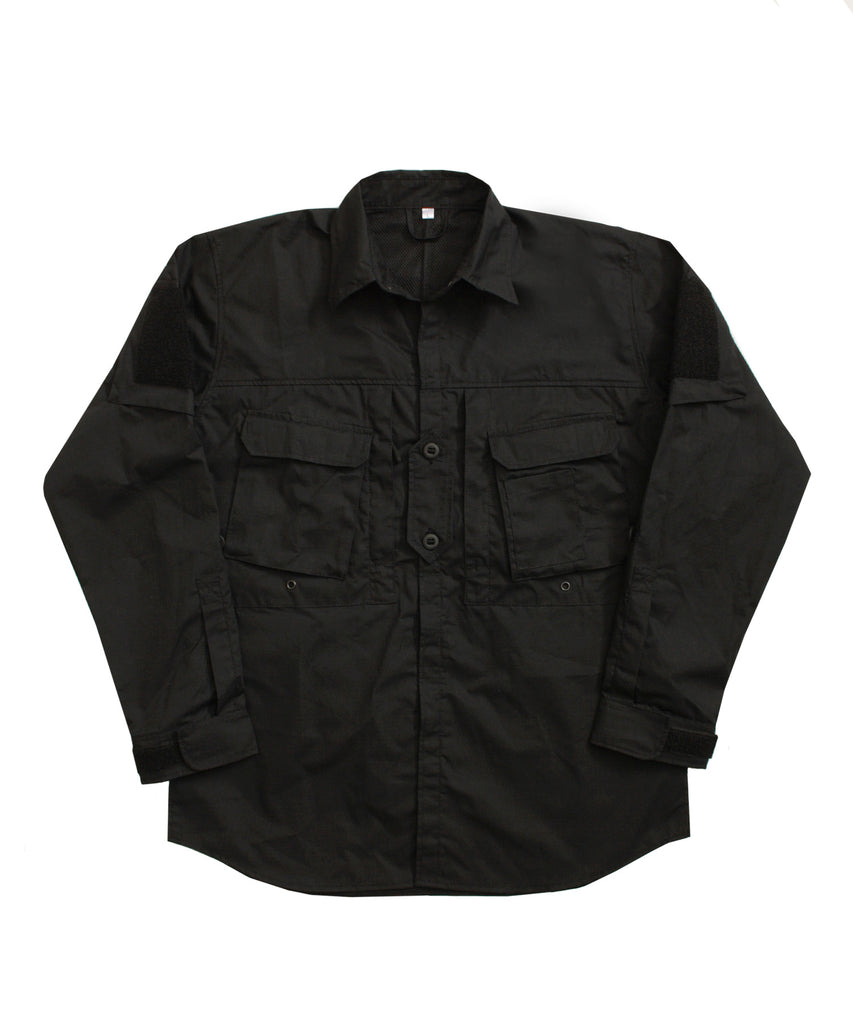 A110 Hot Climate Shirt - Black - Arktis