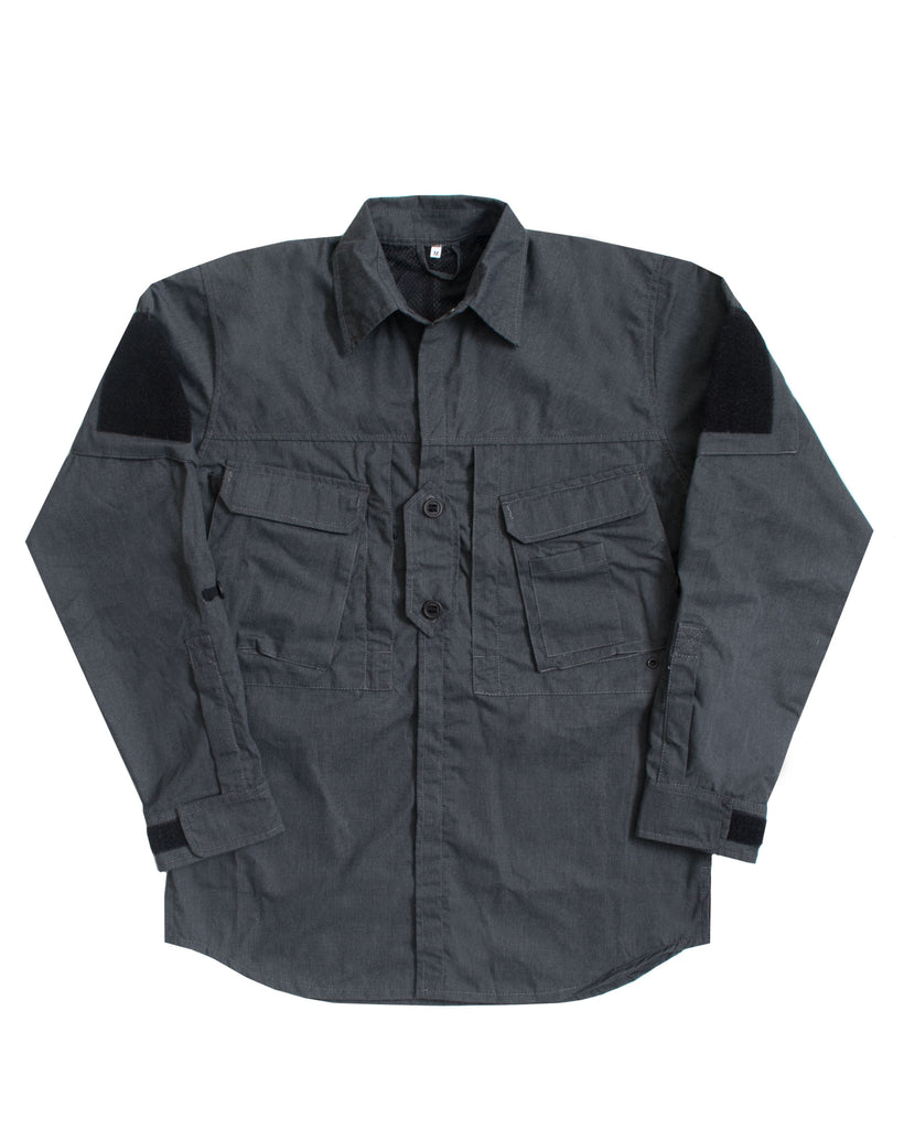 A110 Hot Climate Shirt - Brushed Charcoal - Arktis