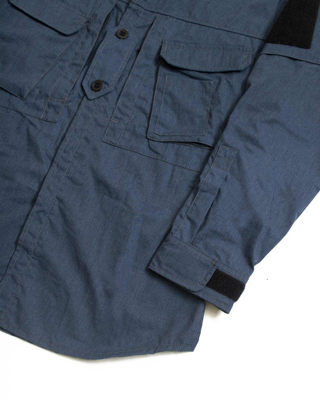 A110 Hot Climate Shirt - Brushed Navy - Arktis