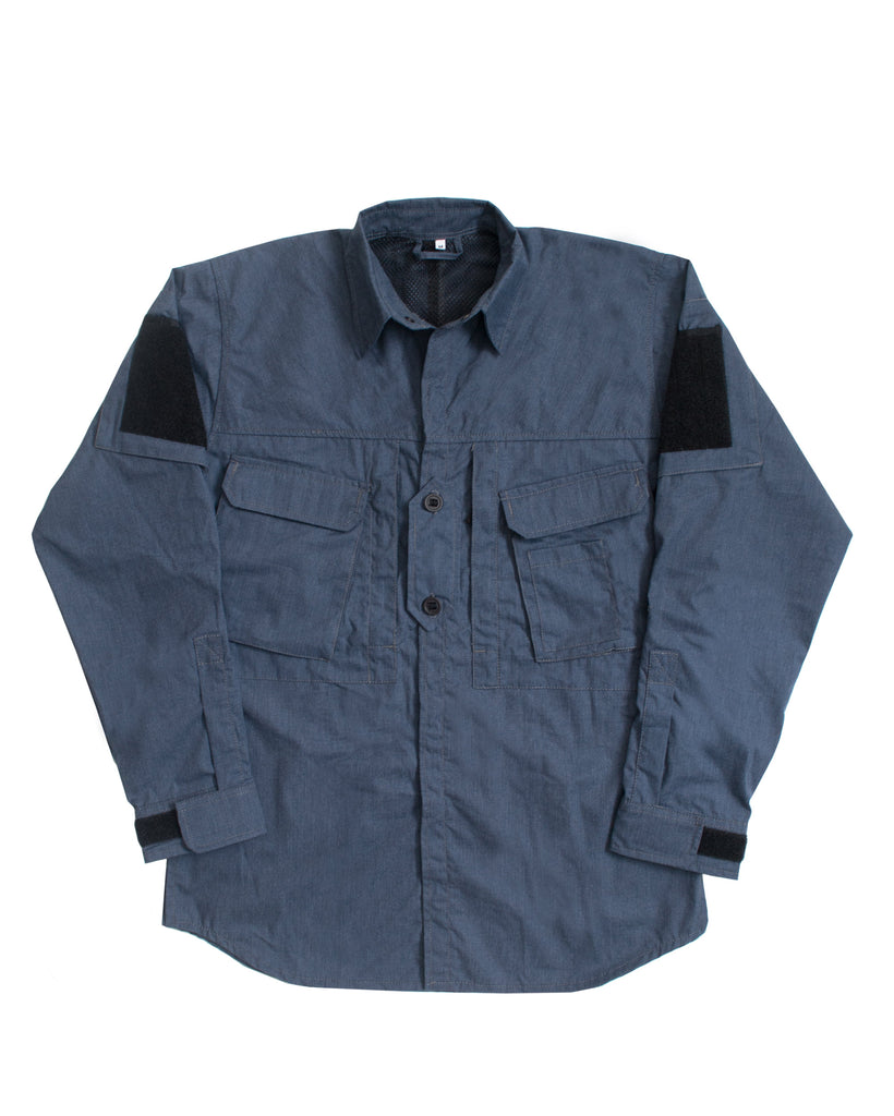 A110 Hot Climate Shirt - Brushed Navy