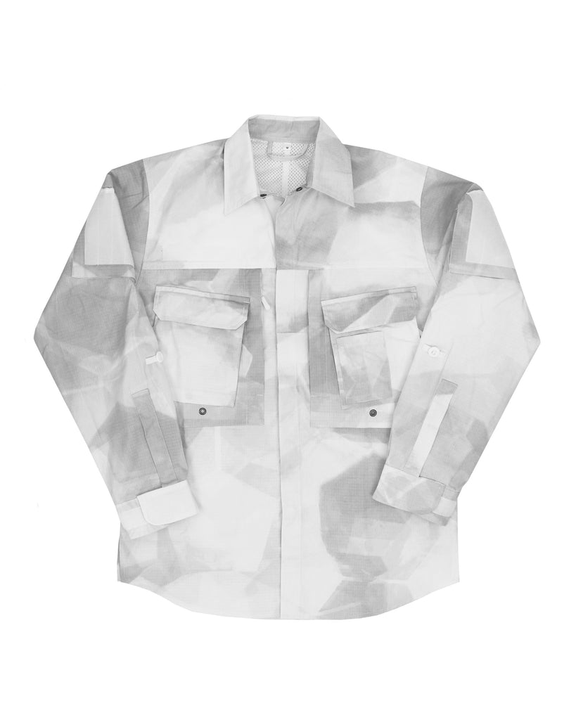 A110 Hot Climate Shirt - Comb Blizzard