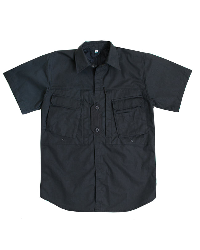 A112 Short Sleeved Shirt - Black - Arktis