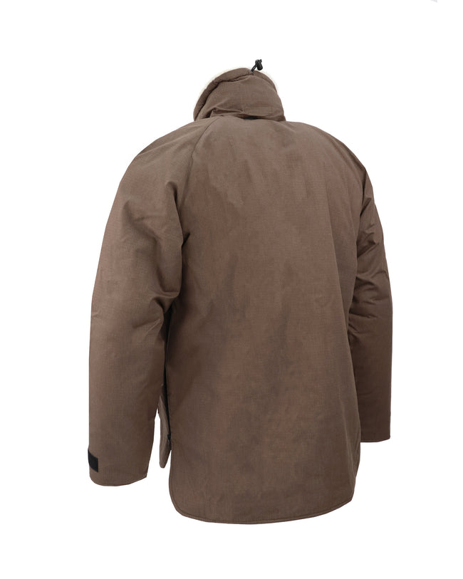 A220 Mammoth Shirt W/ Hood - Brown