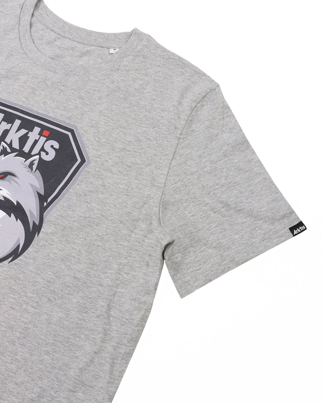 TE003 - Arctic Menace T-Shirt - Heather Grey