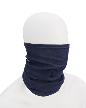 D154 FR Neck Gaiter - Heather Blue