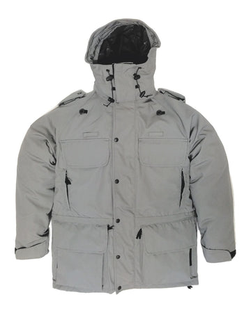 B315 Avenger Coat & Detachable Fleece - C Grey