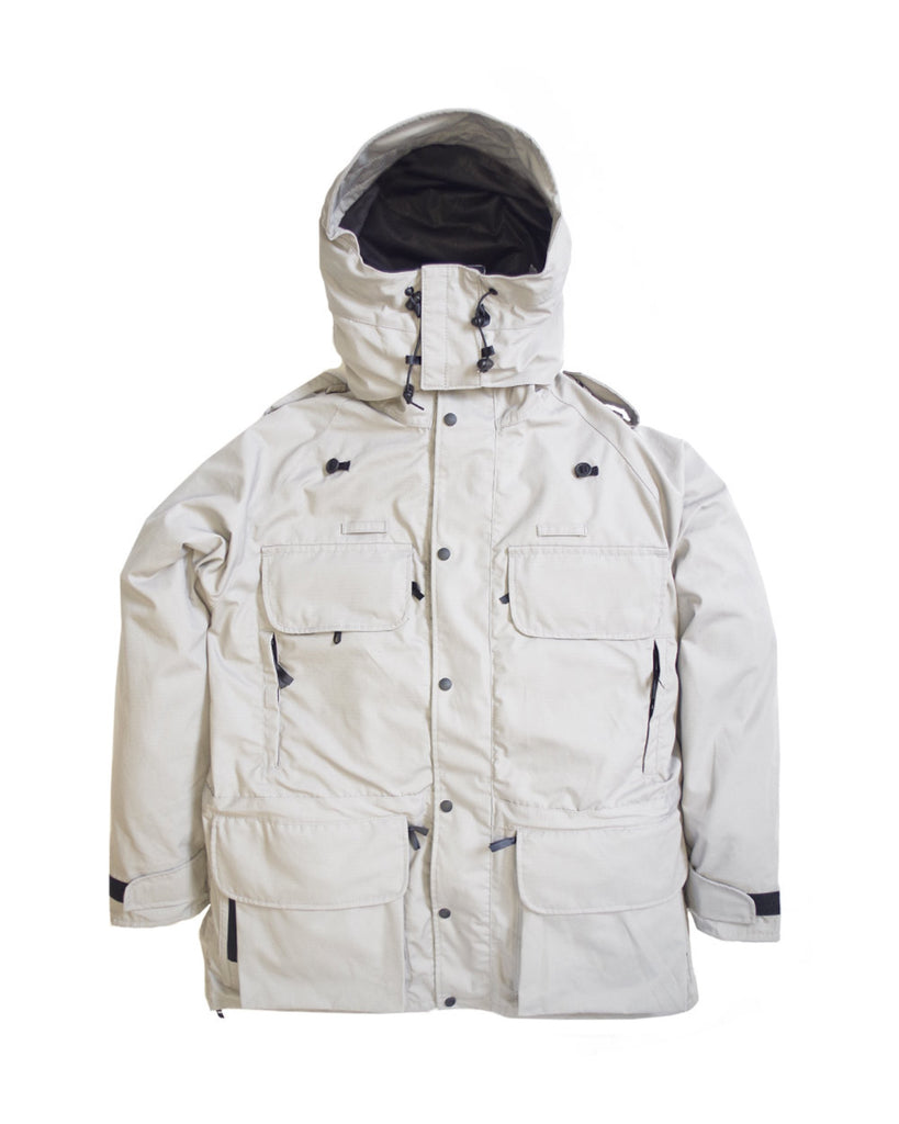 B315 Avenger Coat & Detachable Fleece - Light Grey