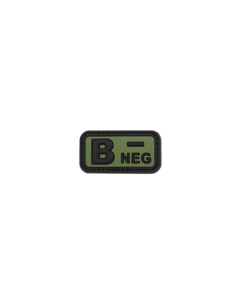 B- (Neg) Blood Type Patch