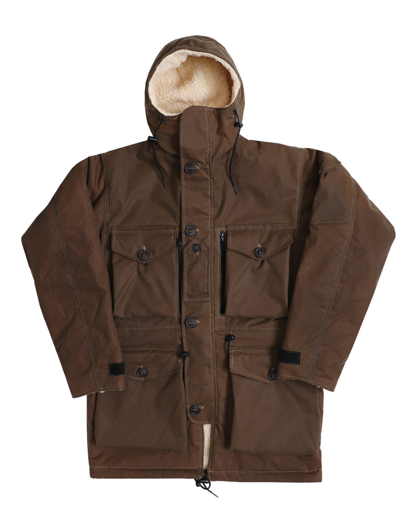 B230 Wax Arctic Smock - Dark Coyote