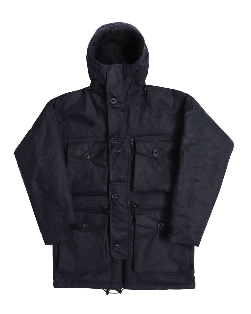B230 Waxed Arctic Smock - Midnight Blue - Arktis