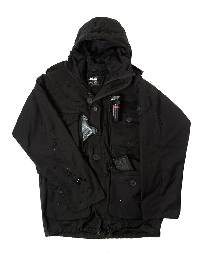 B310P Police Waterproof Smock - Black