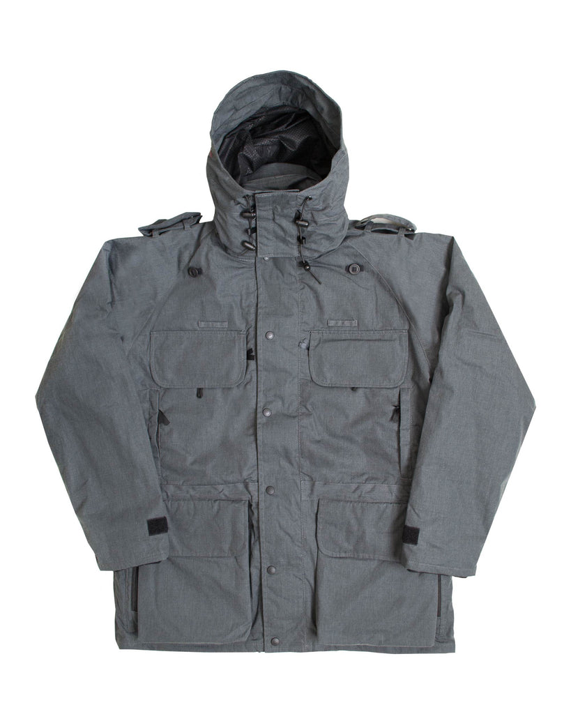 B315 Avenger Coat & Detachable Fleece - Brushed Charcoal