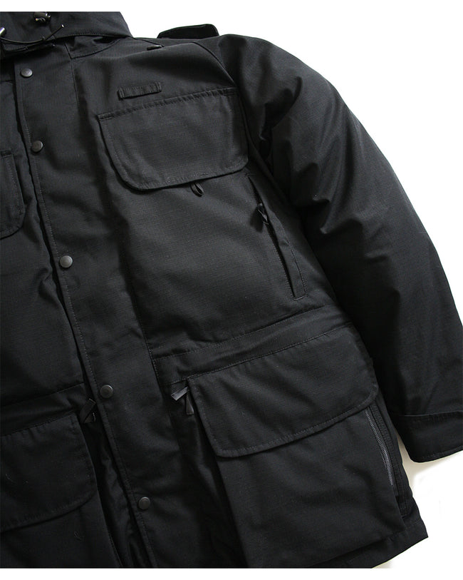 B315 Avenger Coat & Detachable Fleece - Black - Arktis