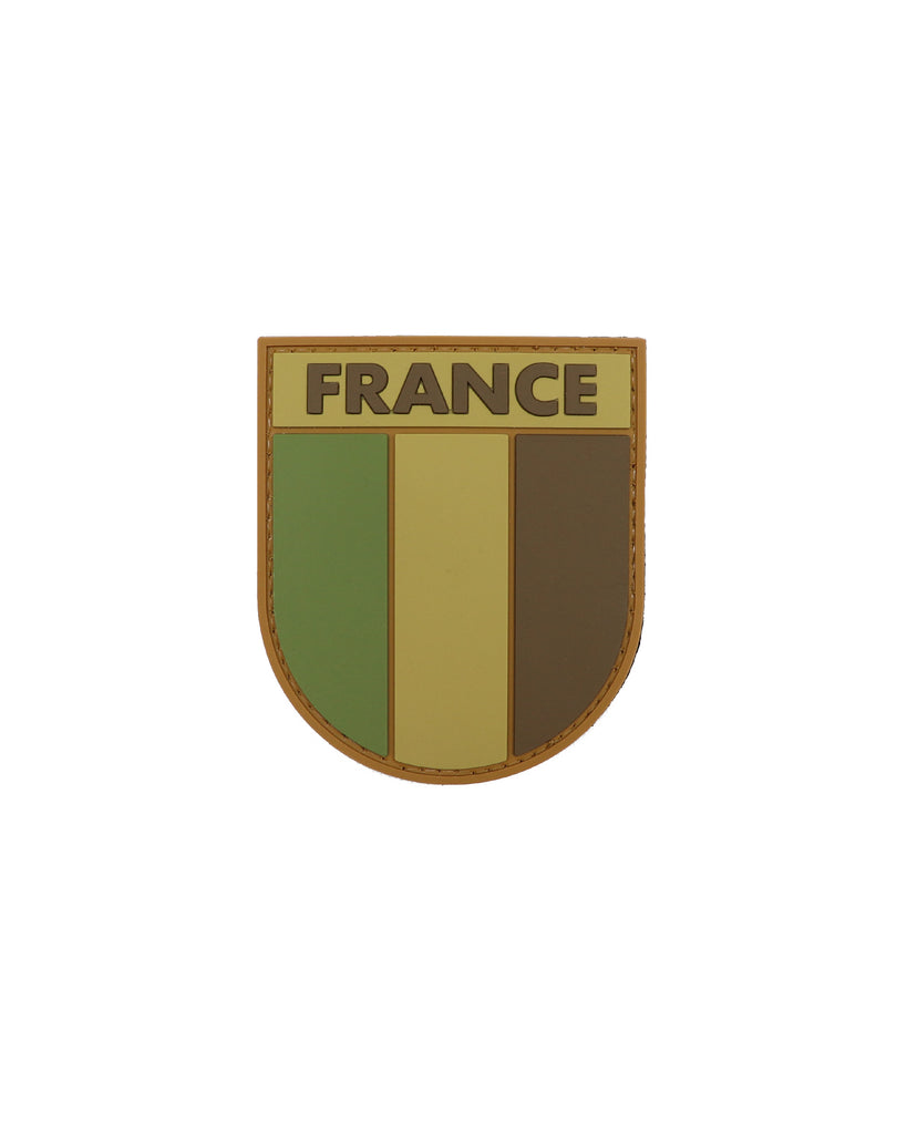 France Subdued Flag Patch