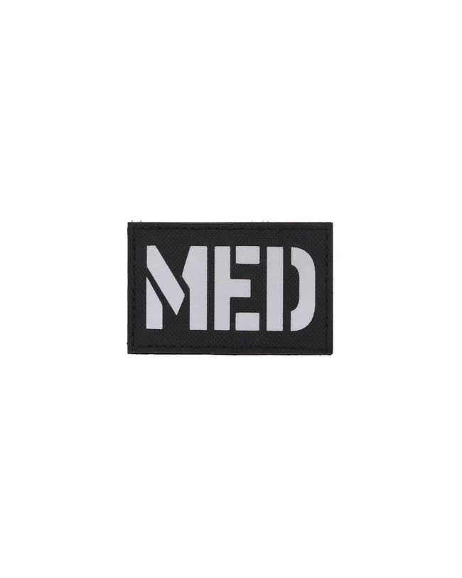 Black MED (Medic) IR/ Reflective Patch